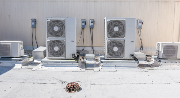 ac units with buildings